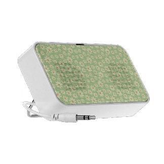 Carcasa con modelo de flor iPod altavoz