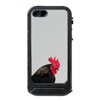 Carcasa De Iphone 5 Incipio Atlas Id Gallo negro