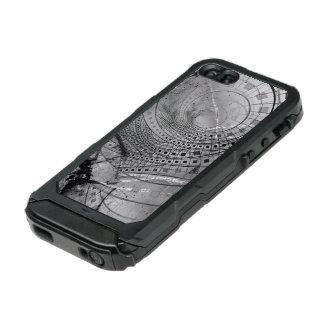 Carcasa De Iphone 5 Incipio Atlas Id Memorias hechas fragmentos del fractal y vidrio