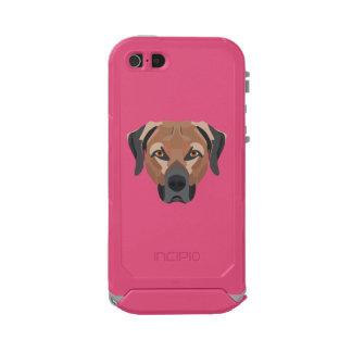 Carcasa De Iphone 5 Incipio Atlas Id Perro Brown Labrador del ilustracion