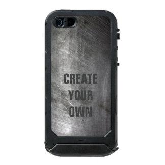 Carcasa De Iphone 5 Incipio Atlas Id Textura cepillada rasguñada del metal