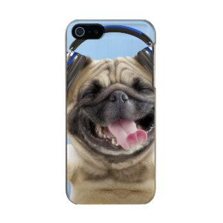 Carcasa De Iphone 5 Incipio Feather Shine Barro amasado con los auriculares, barro amasado,