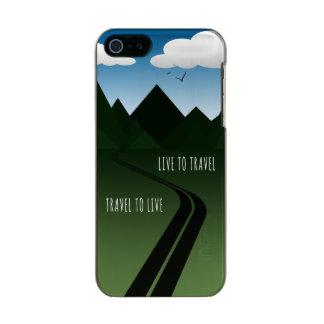 Carcasa De Iphone 5 Incipio Feather Shine Camino de la montaña