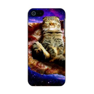 Carcasa De Iphone 5 Incipio Feather Shine gato de la pizza - gato loco - gatos en espacio