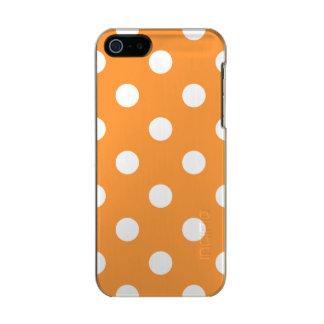 Carcasa De Iphone 5 Incipio Feather Shine Modelo de lunar anaranjado