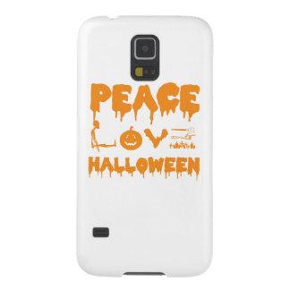 Carcasa Galaxy S5 Ame la camiseta del traje de Halloween con el