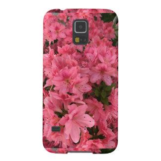 Carcasa Galaxy S5 Arbusto floreciente rosado brillante en la