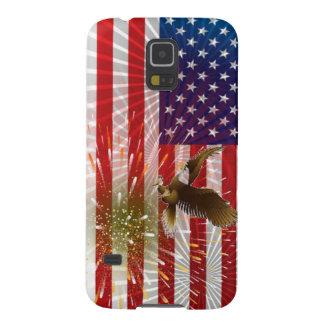 Carcasa Galaxy S5 Bandera americana
