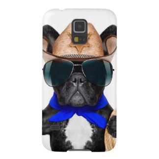 Carcasa Galaxy S5 barro amasado del vaquero - vaquero del perro