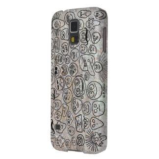 Carcasa Galaxy S5 Caras divertidas
