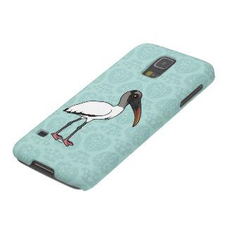 Carcasa Galaxy S5 Cigüeña de madera de Birdorable