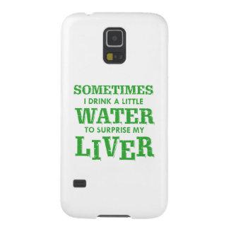 Carcasa Galaxy S5 Diseños divertidos del hígado