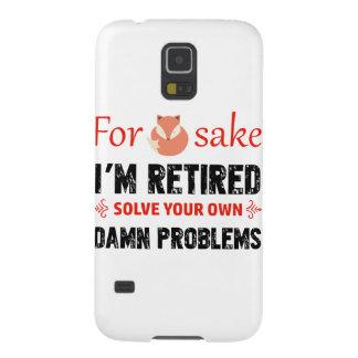 Carcasa Galaxy S5 Diseños jubilados divertidos