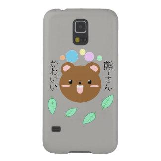 Carcasa Galaxy S5 Kawaii/caja linda del Oso-Teléfono (elija el