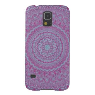 Carcasa Galaxy S5 Mandala geométrica de la flor