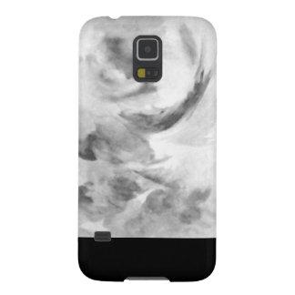 Carcasa Galaxy S5 Máscara blanco y negro