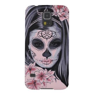 Carcasa Galaxy S5 Máscara del esqueleto de la mujer