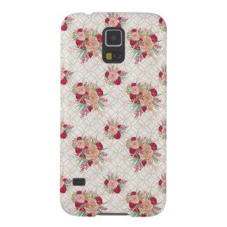 Carcasa Galaxy S5 Modelo de flores