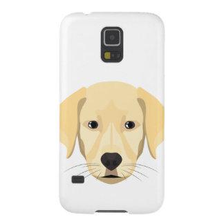 Carcasa Galaxy S5 Perrito Retriver de oro del ilustracion