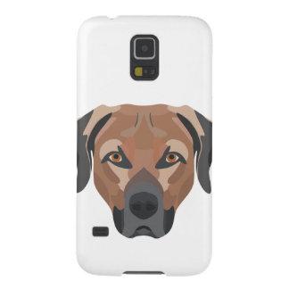 Carcasa Galaxy S5 Perro Brown Labrador del ilustracion