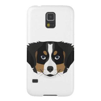 Carcasa Galaxy S5 Perro de montaña de Bernese del ilustracion