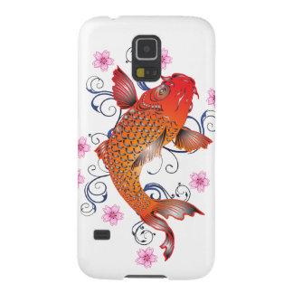 Carcasa Galaxy S5 Pescados de Koi