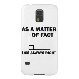 Carcasa Galaxy S5 Tengo siempre razón