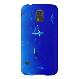Carcasa Galaxy S5 Tiburones subacuáticos