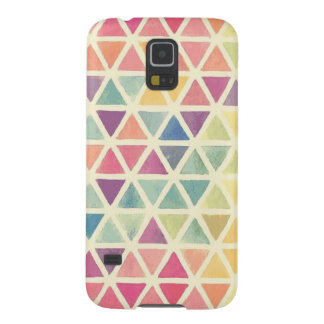 Carcasa Galaxy S5 triángulos coloridos