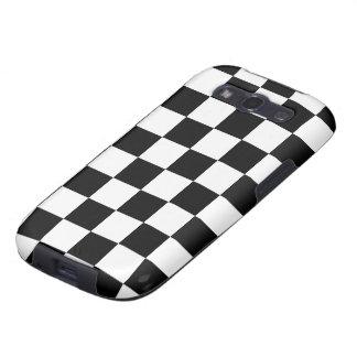 Carcasa GalaxyS3 diseño ajedrez Galaxy S3 Protectores