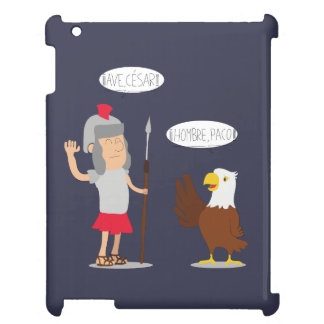 Carcasa iPad diseño original y divertido Ave César