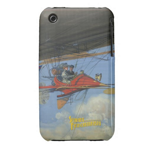 Carcasa iPhone 3G Futuristic Air Travel Case-Mate iPhone 3 Protector