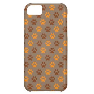 Carcasa iPhone 5C Caja del teléfono de la impresión de la pata