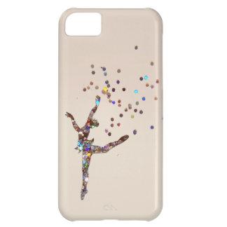 Carcasa iPhone 5C Caso reluciente del bailarín