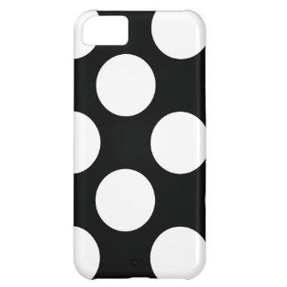 Carcasa iPhone 5C Lunar (negro y blanco) cualquier personalizable