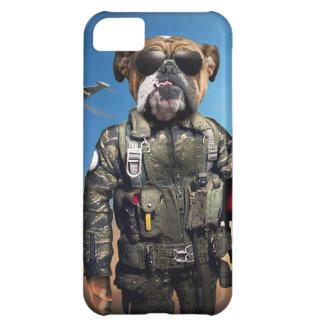 Carcasa iPhone 5C Perro experimental, dogo divertido, dogo