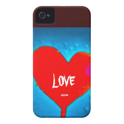 Cárcasa LOVE iPhone 4 Case-Mate Funda