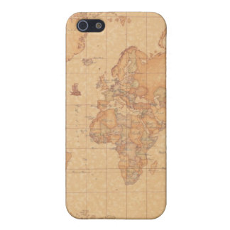 Carcasa Mapa del Mundo para i Phone 5 iPhone 5 Protector