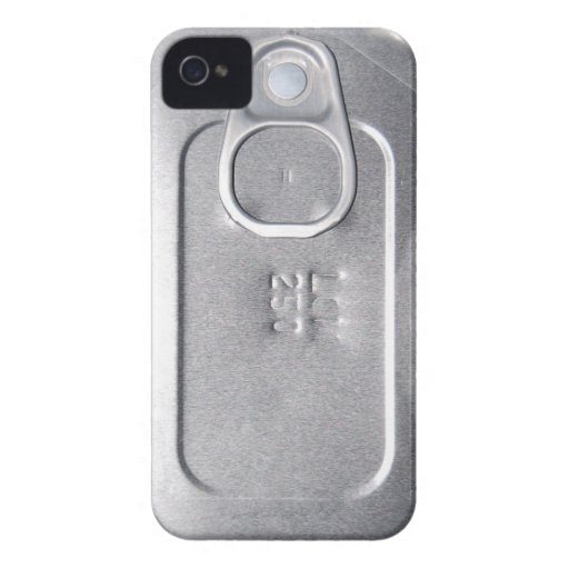 "Carcasa mate iPHONE 4 ""LATA CONSERVAS"" iPhone 4 Carcasas"