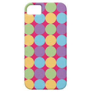 Carcasa móvil diseño geométrico Lunares1 iPhone 5 Cárcasas