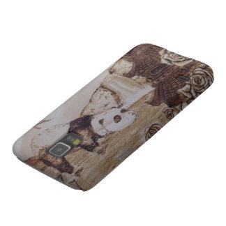 Carcasa Para Galasy S5 Baño perezoso de la panda
