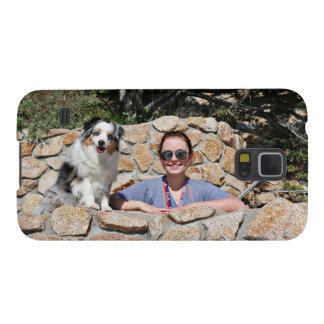 Carcasa Para Galasy S5 Bennett - mini australiano - Rosie - playa de