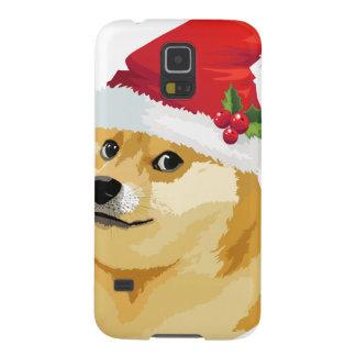 Carcasa Para Galasy S5 Dux del navidad - dux de santa - perro del navidad