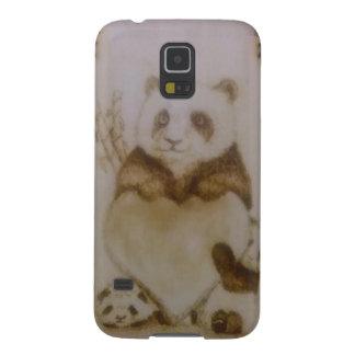 Carcasa Para Galasy S5 Pandas cariñosas