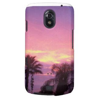 Carcasa Para Galaxy Nexus Puesta del sol de Coloful la Florida
