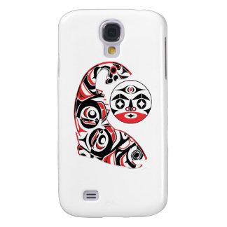 Carcasa Para Galaxy S4 Alcohol de color salmón