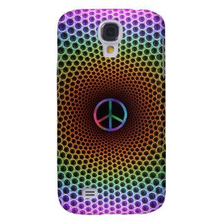 Carcasa Para Galaxy S4 Caja 2 de la mota de la paz