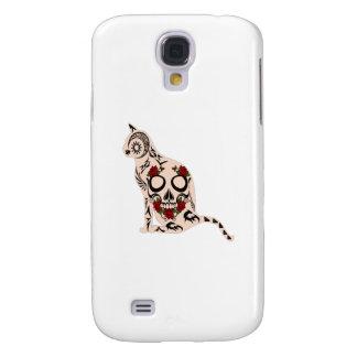 Carcasa Para Galaxy S4 Corazón del cráneo