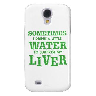 Carcasa Para Galaxy S4 Diseños divertidos del hígado