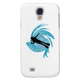 Carcasa Para Galaxy S4 En el azul
